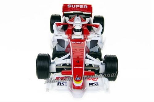 brinquedo carrinho fórmula racing f1 renault r28 com led