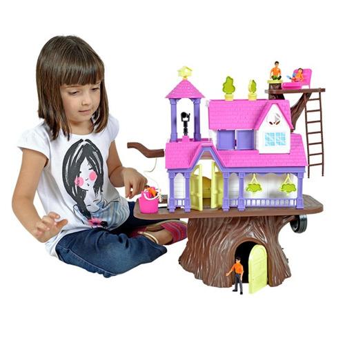 brinquedo casa na árvore 3901 - home play/xplast