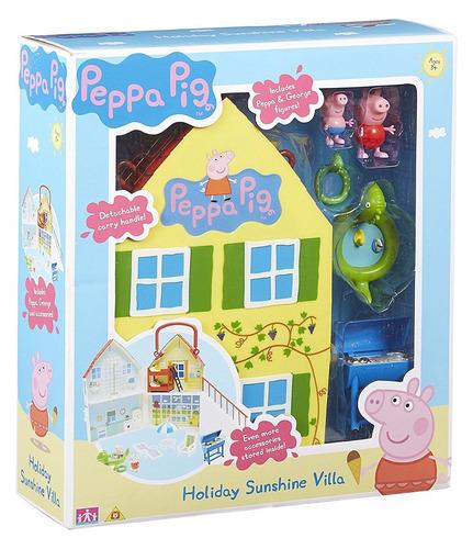brinquedo casa peppa pig holiday - original