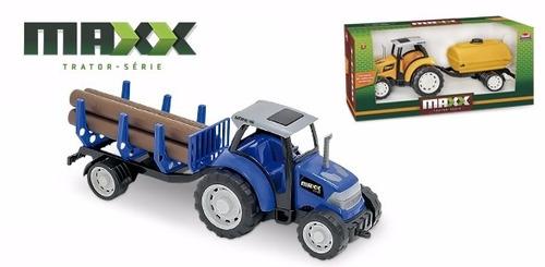 brinquedo coleção mini trator tora infantil frete grátis