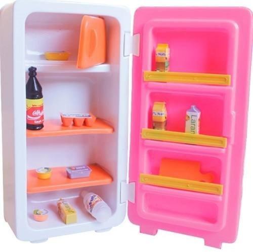 brinquedo cozinha geladeira infantil lux - lua de cristal