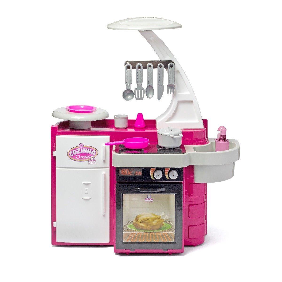 Brinquedo Cozinha Infantil Fog O Geladeira Panela Cotipl S R 86