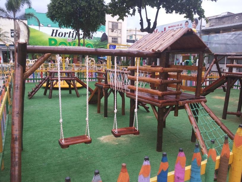 Brinquedo de madeira parque infantil ltimo modelo r for Parque infantil jardin