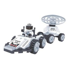 Brinquedo De Montar - Carro Lunar - Com 69 Peças