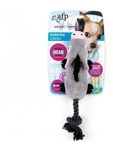 brinquedo diferente burrinho c/ som ultrasonic donkey king afp p/ cães