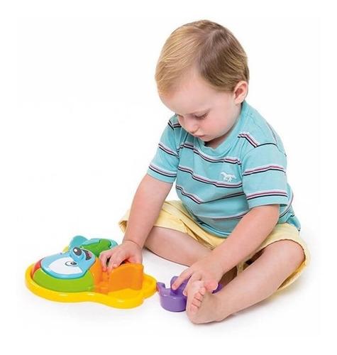 brinquedo educativo calesita animal puzzle cachorro