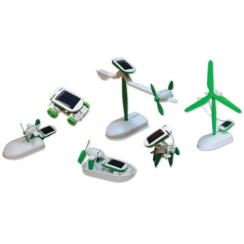 brinquedo educativo kit solar 6 em 1