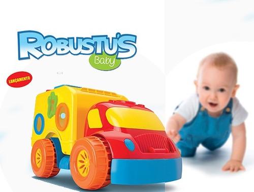 brinquedo educativo pedagogico carrinho robustus divertoys