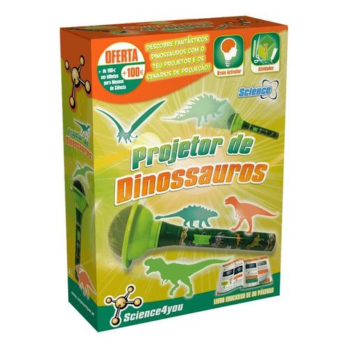 brinquedo educativo projetor de dinossauros