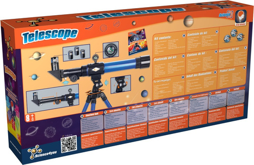brinquedo educativo telescópio