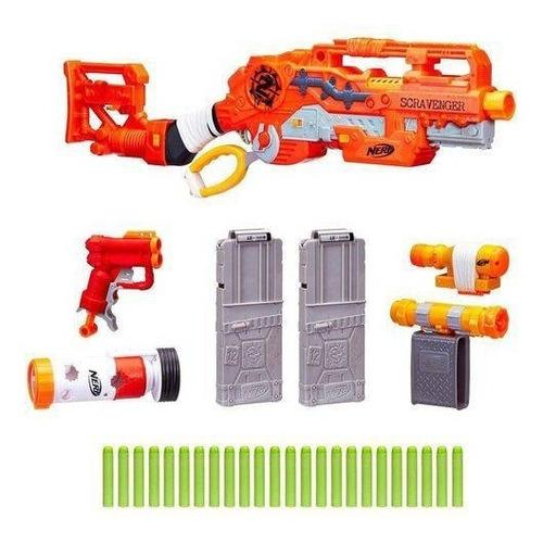 brinquedo hasbro nerf zombie strike scravenger