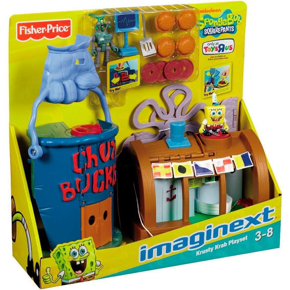 Brinquedo Imaginext Bob Esponja Lanchonete O Siri Cascudo