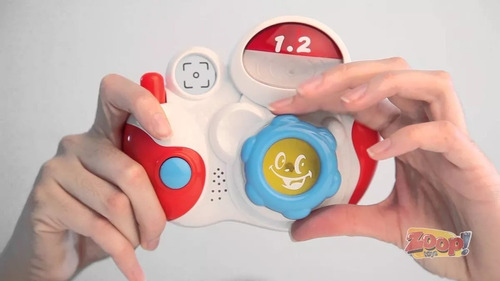 brinquedo infantil minha primeira câmera fotográfica zoop