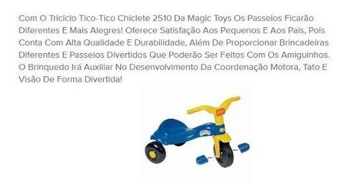 brinquedo infantil motoca motoquinha tico tico chiclete