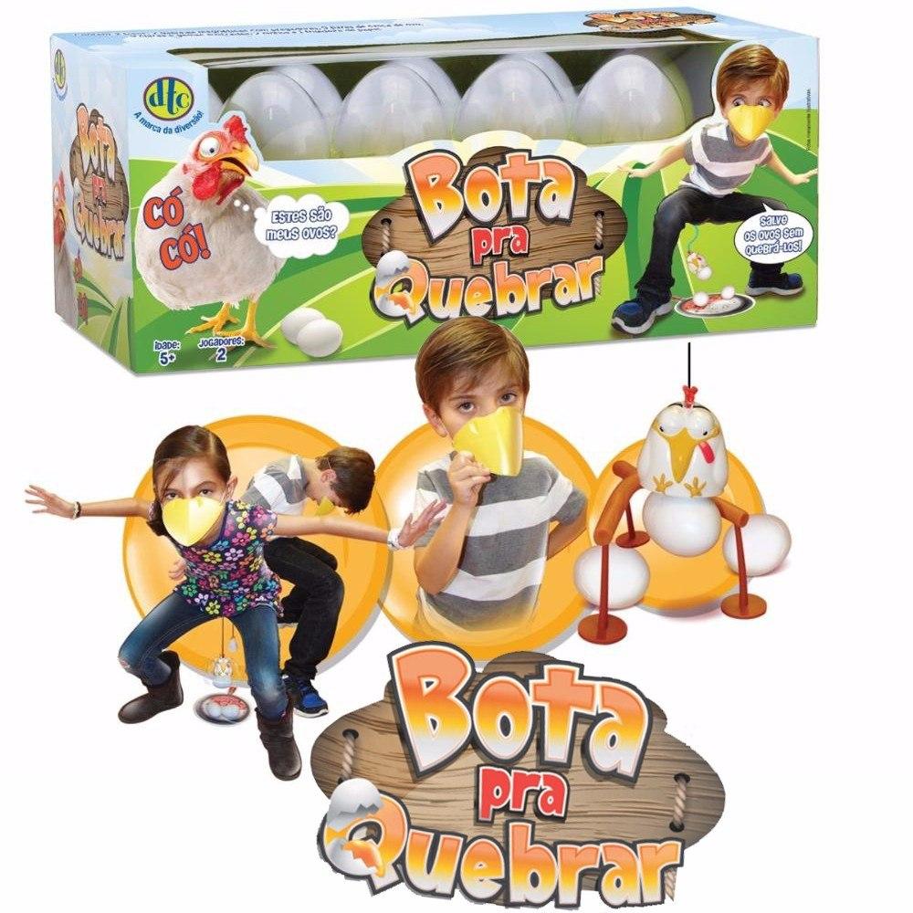 e38821b7e Brinquedo Jogo Bota Pra Quebrar 3715 Origina Dtc 2 Jogadores - R ...