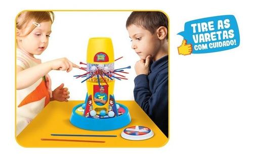 brinquedo jogo tira varetas lucas luccas neto original elka