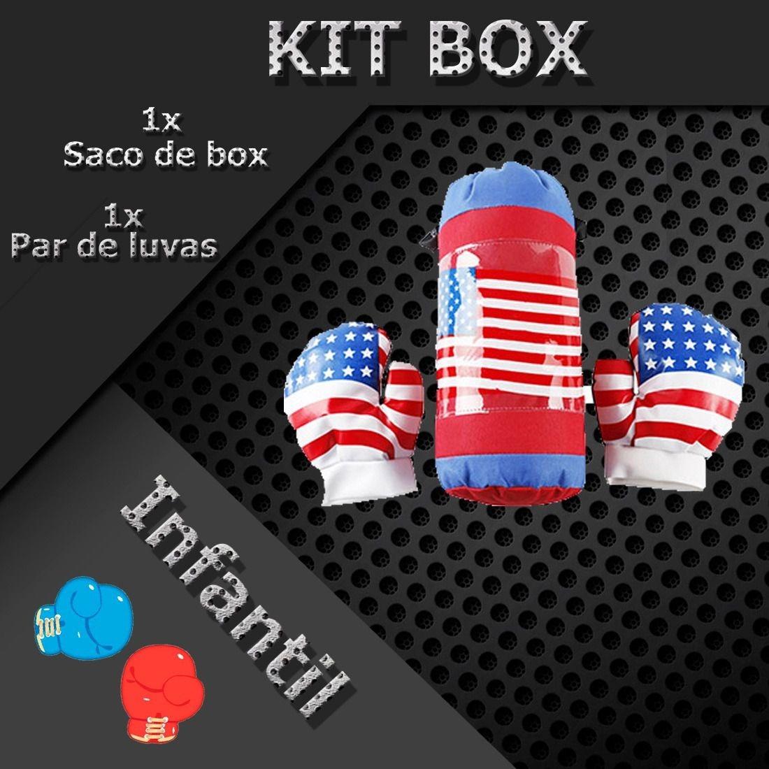 257bdbb4a6ecd Brinquedo Kit Saco Boxe Esporte Jogo Atacado Diversão Treino - R  45 ...