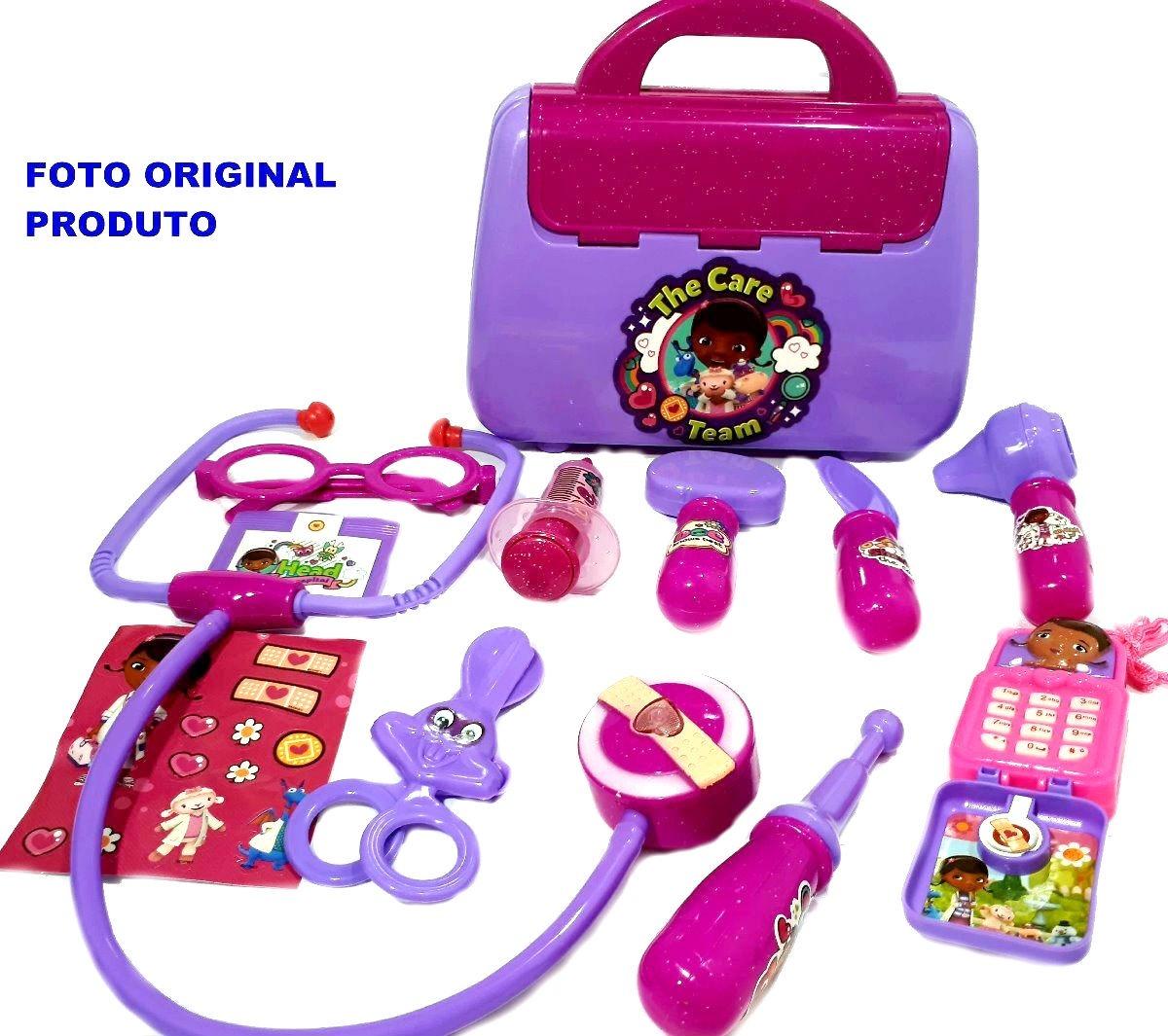Brinquedo Maleta Acessorios Doutora Brinquedos Doctor Tools R