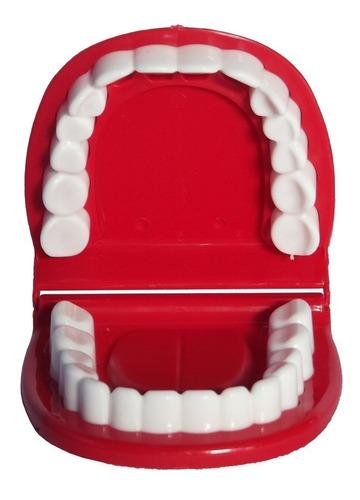 brinquedo maleta kit dentista c/ 5 peças - 130770