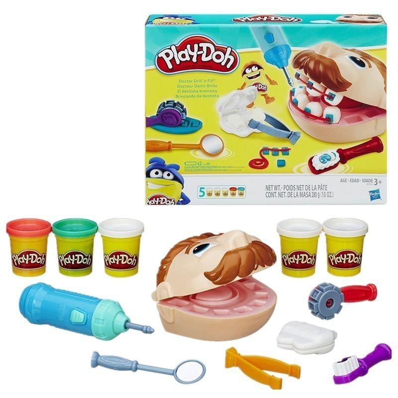 536b145d70 Brinquedo Massinha Play Doh Playset Dentista B5520 Hasbro - R  119 ...
