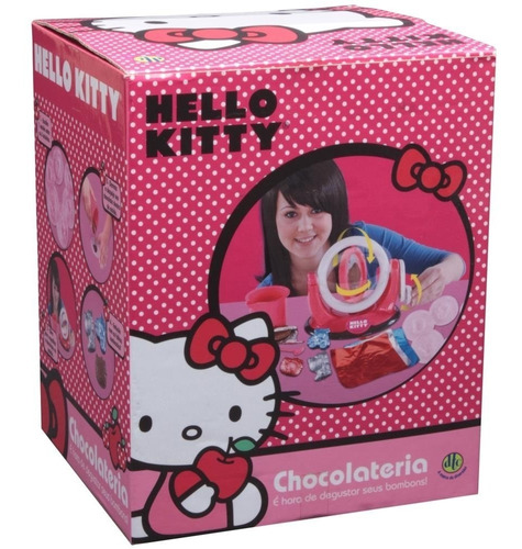 brinquedo menina maquina chocolateria da hello kitty cozinha