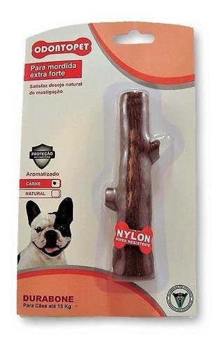 brinquedo mordedor durabone tronco mord extrafort até15kg
