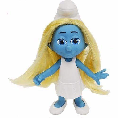 Brinquedo Original Smurf Boneca Smurfette Fashion Doll Sunny