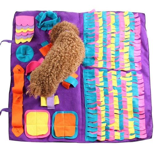 brinquedo para cachorro farejar comida tapete jogo para cão