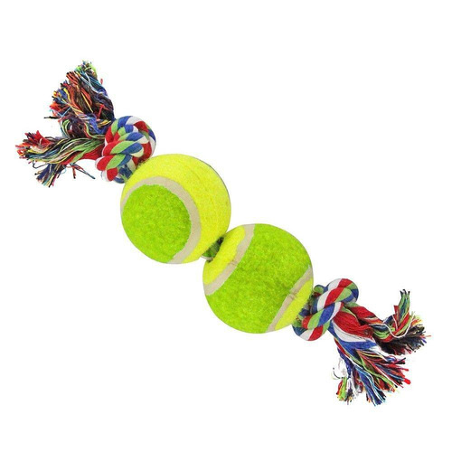 brinquedo para cachorro / gato  corda com bola