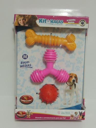 brinquedo para cachorros maciço aromatizado raças médias