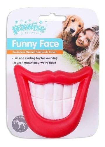 brinquedo para cães sorriso de vinil pawise
