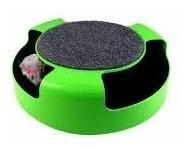 brinquedo para gato pegue o ratinho roda com rato arranhador