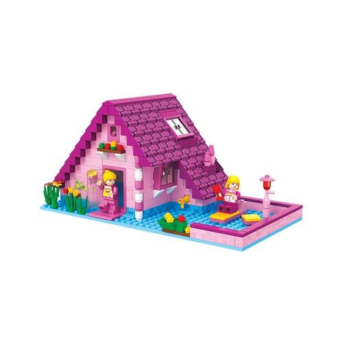 brinquedo para montar - casa - 277 peças