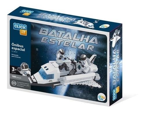 brinquedo para montar - ônibus espacial - 180 peças