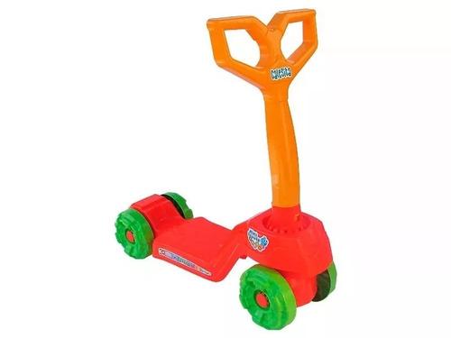 brinquedo patinete para crianças mini scooty calesita