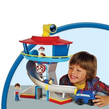 brinquedo patrulha canina torre de vigilância