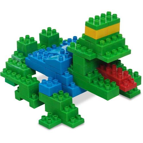 brinquedo pedagógico teruske como lego conectando 500pcs