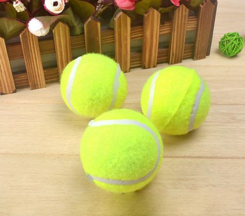 brinquedo pet bola amarela