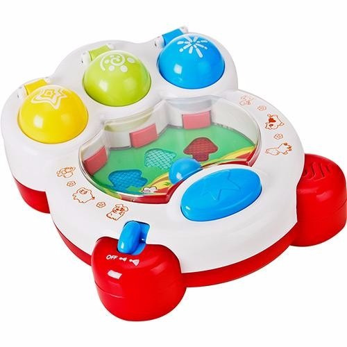 brinquedo pinball musical barnyard  little learner*
