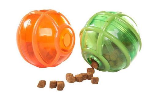 brinquedo porta petisco com dificultador para cães cachorros