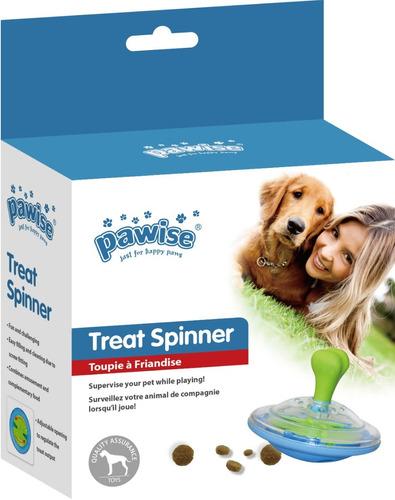 brinquedo porta petisco derruba ração para cães pawise