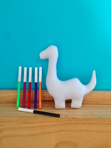 brinquedo que eu fiz - dinossauro pescoçudo