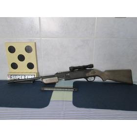 Brinquedo Rifle Super Tiro Estrela - Rarissimo E Completo