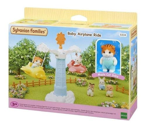 brinquedo sylvanian families avião do 5334 epoch bebê magia