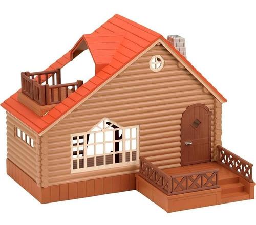 brinquedo sylvanian families casa de madeira 2901- epoch