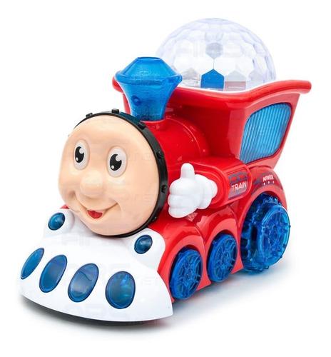 brinquedo trem thomas trenzinho infantil luz som bate volta