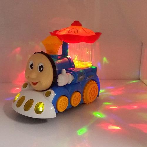 brinquedo trem trenzinho thomas com luz e som infantil legal