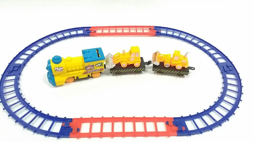 brinquedo trenzinho a pilha com trilhos word trem