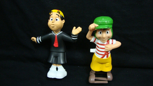 brinquedos antigos do mc donalds -  turma do chaves