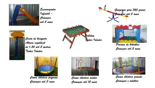brinquedos - locação de cama elástica e outros